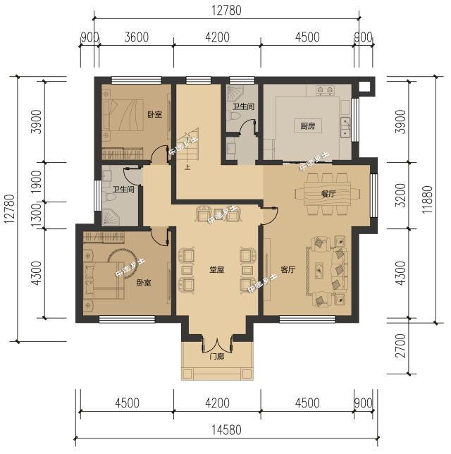 别墅立柱施工图