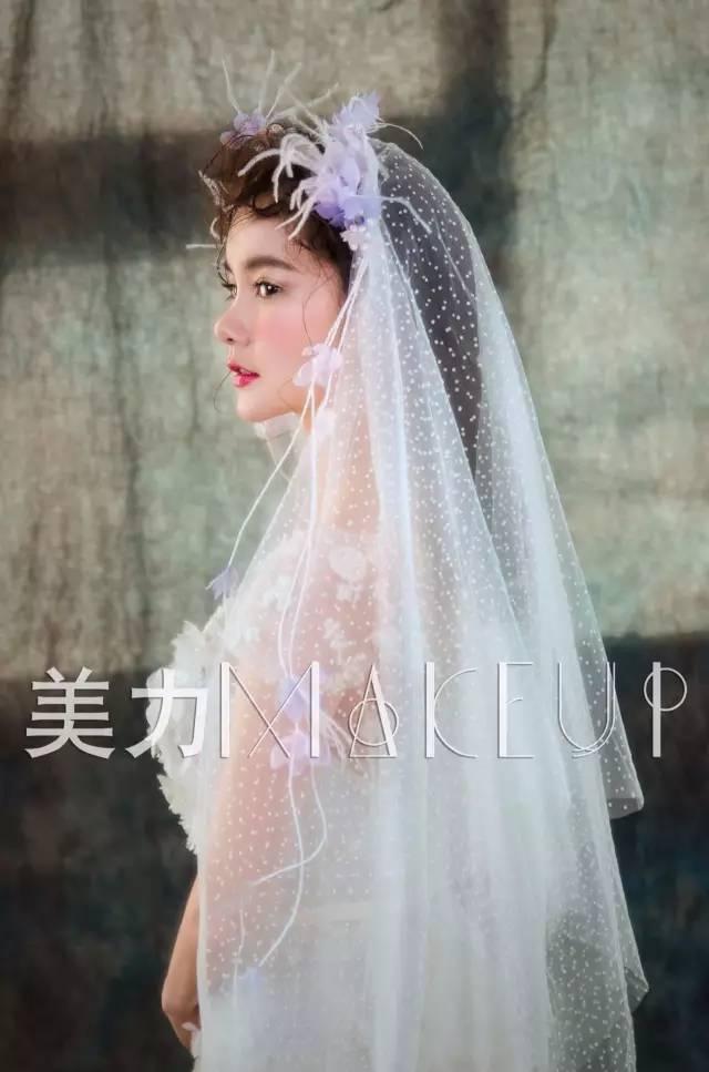 绝美婚礼头纱造型,打造神秘迷人的仙女范儿!图片