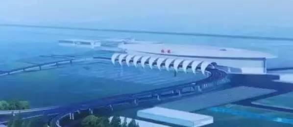 5公里 位置:现有的机场路东侧 走向:南北走向 起点:江海大道 终点:金