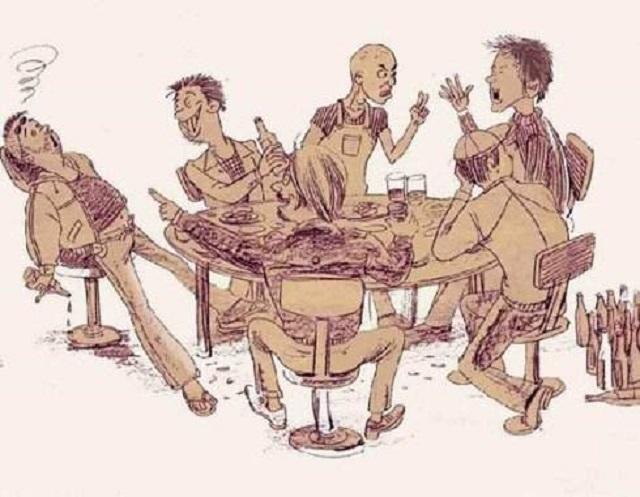酒桌文化:敬酒语与拒酒词
