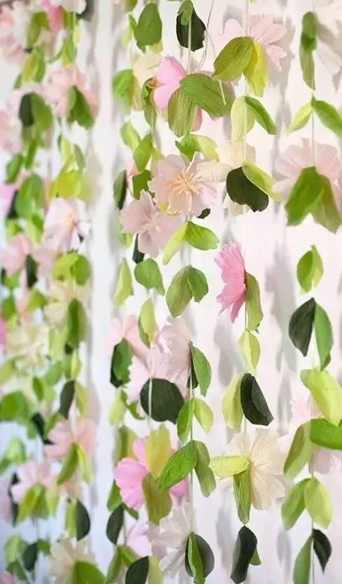 幼儿园皱纹纸手工制作+吊饰,美爆了!简直可以以假乱真 搜狐母婴 搜狐网
