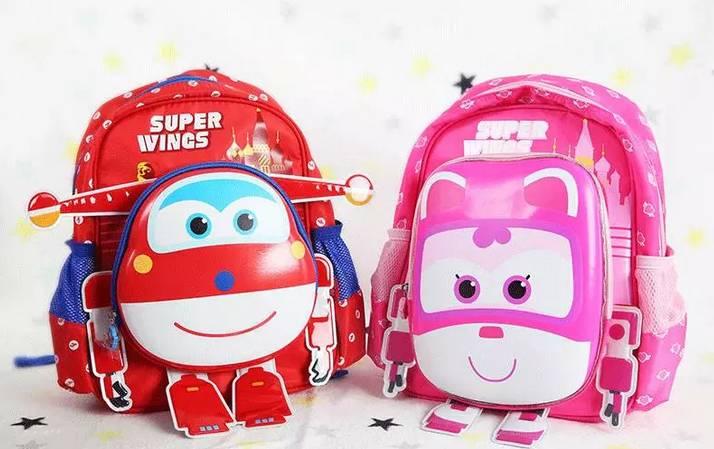 开团 超级飞侠儿童书包,宝宝最爱的卡通形象