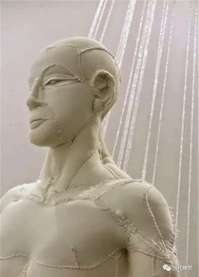 棉布人像雕塑