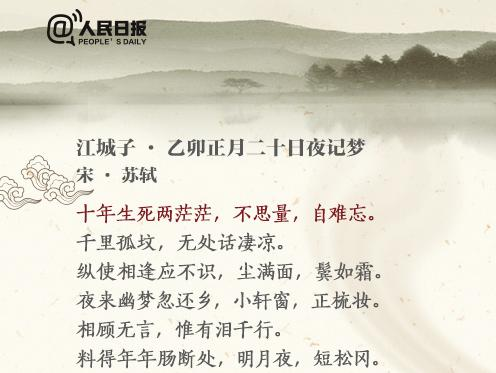 """人民日报:这16首古诗词,一开头就""""惊艳四方""""!"""