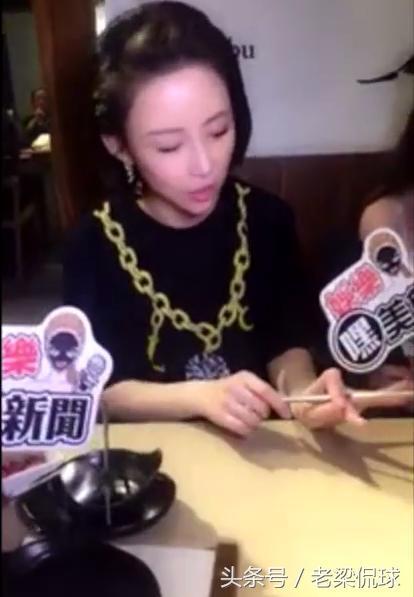潘晓婷用筷子叫美女打台球却嫌筷子太细如果是黄瓜宽度正好?