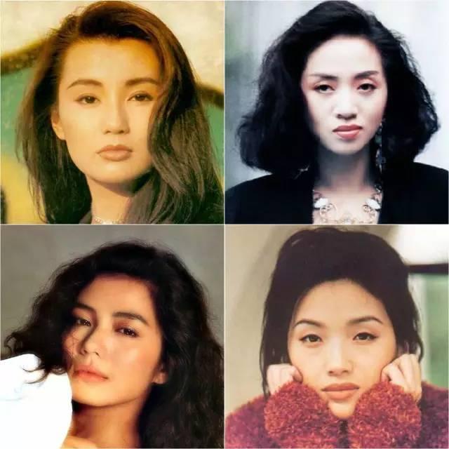 年代,这些荧屏美女明星,青春自然,不会去追爆款锥子脸,她们的妆容发型