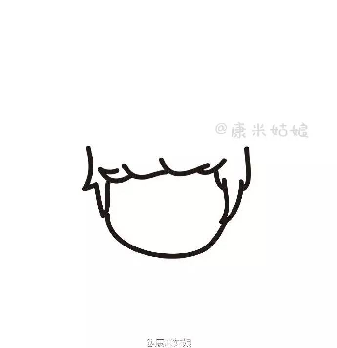 简笔画教程 | 几笔就能画出鹿晗,要不要试一试?
