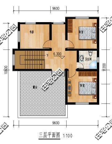 9x13米房屋设计平面图
