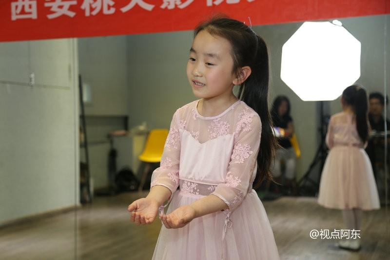 电影《很高兴遇见你》招募演员  铜川小女孩朗诵催人泪下 - 视点阿东 - 视点阿东