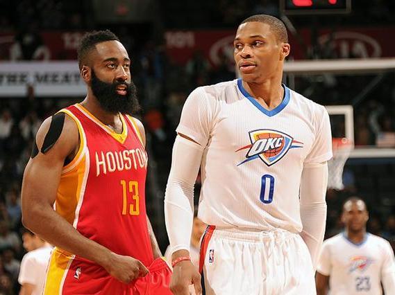 NBA季后赛 火箭VS雷霆 死亡缠绕威少悲催
