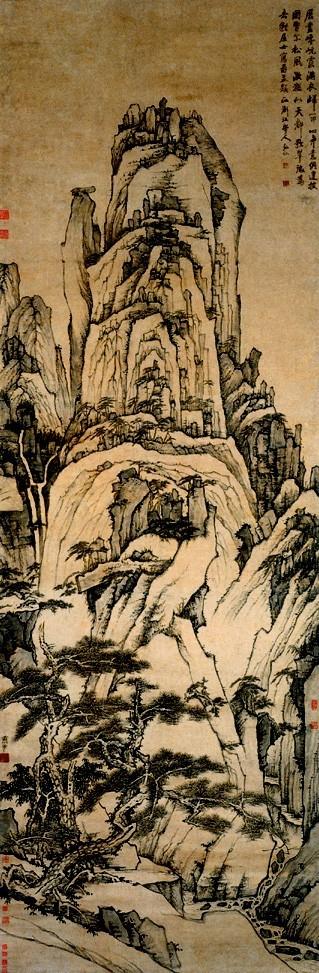 在中国画史上就有这样一个群体,他们出家为僧, 用水墨丹青留下了那一图片