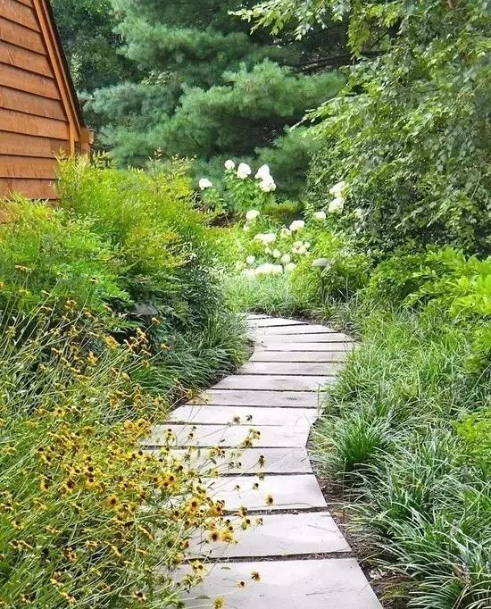 别墅空间 庭院小路设计,路因景曲,境因曲深