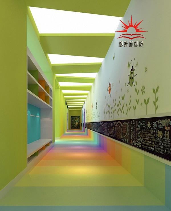 幼儿园地面装修设计效果图