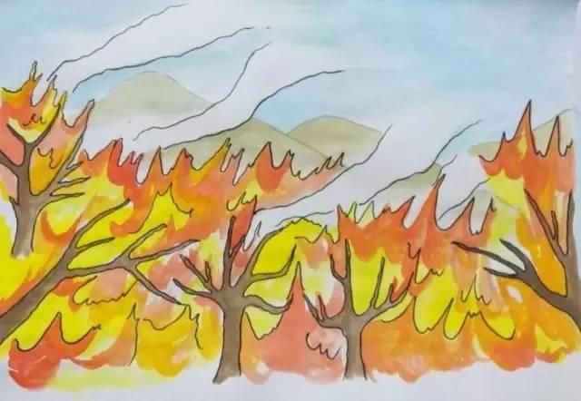 一个珲春小伙子讲述可爱步骤森林,简述漫画火灾v步骤手绘SWOT法的基具体公益图片