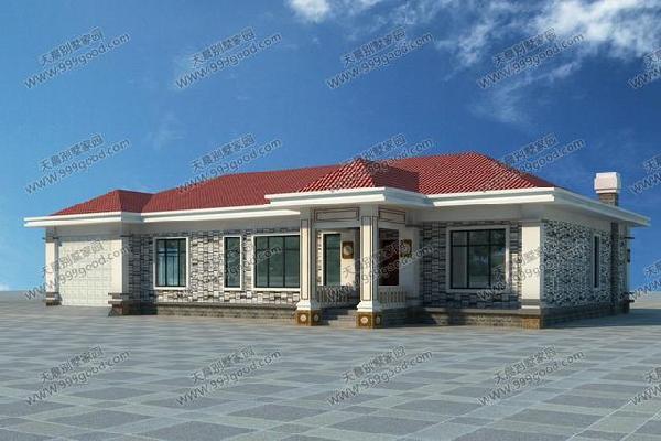 8套农村经济型别墅,盖一层还是二层 含平面图