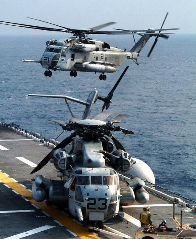 海上大力——美国ch-53e