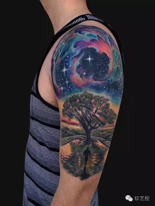 「星空纹身」, 艺术感有型格之余 , 是时候尝试不一样