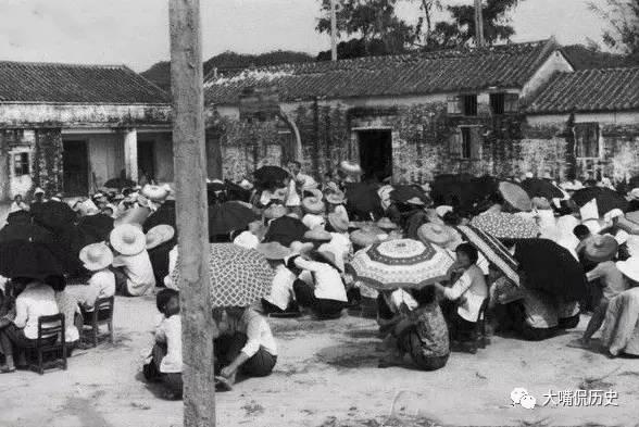 实拍70年代中国农村老照片 当年深圳是这个样子的