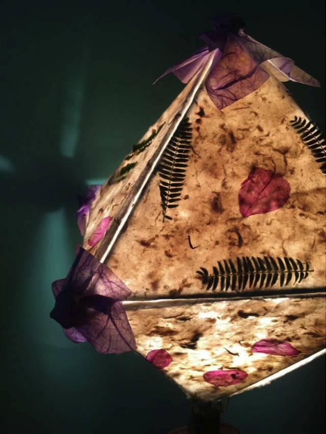 会员沙龙丨古法造纸 · 鲜花古纸灯diy,指尖上的地球日