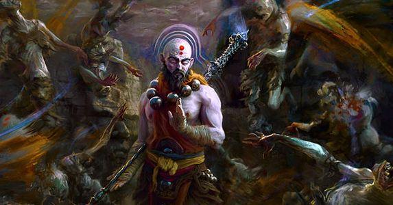 神界佛界相互谋攻暗黑元灵司机作乱