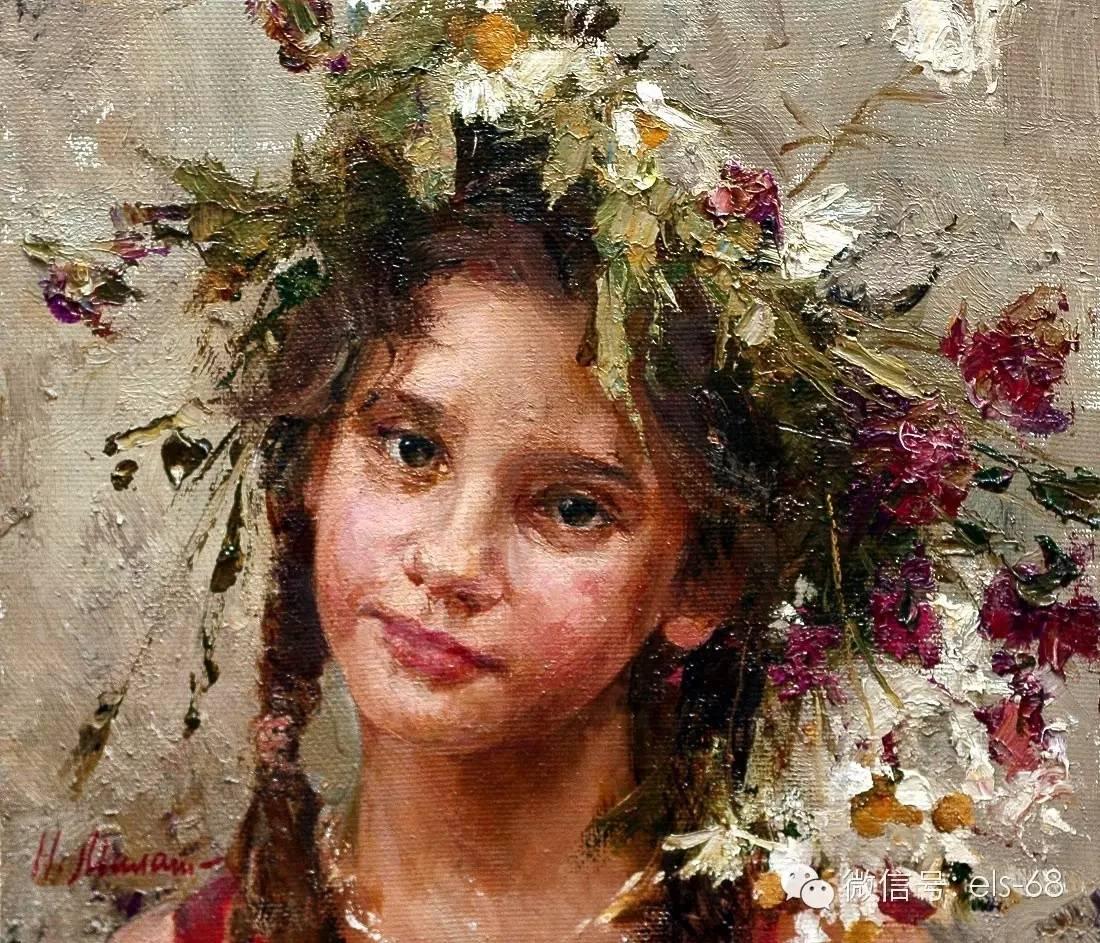 【艺术】俄罗斯画家娜塔利亚的油画作品图片