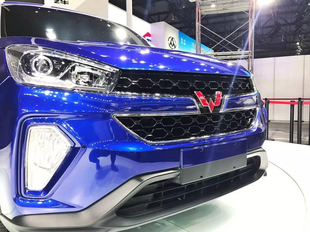 五菱首款SUV 五菱宏光S3,上海车展首次亮相高清图片