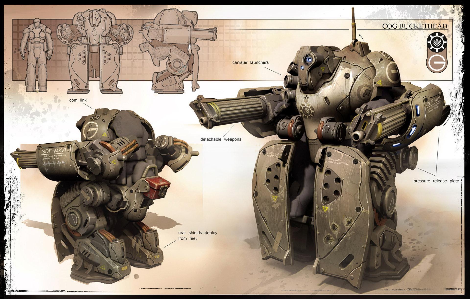 未来科学概念设计,你是喜欢战争机器人还是喜欢人形装甲