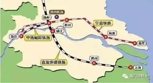 宁启铁路离我们又近了,火车站效果图曝光!海门站pk启东站哪个颜值高?