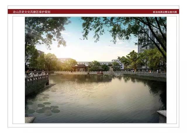 福州冶山公园规划图