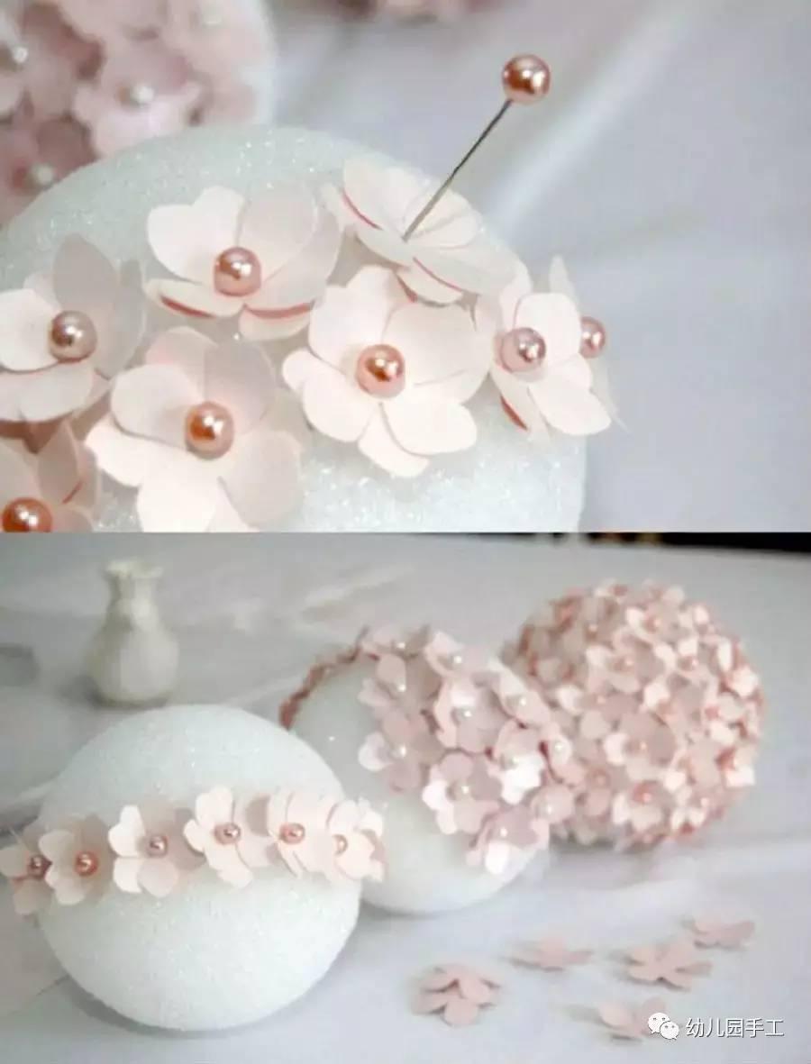 褶皱纸花的做法详细步骤