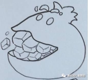 每日一画 4步学会卡通 红石榴 简笔画,今天的你更出彩