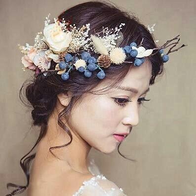 新娘头饰制作视频_当你做新娘的那一天,带上唯美的头饰!