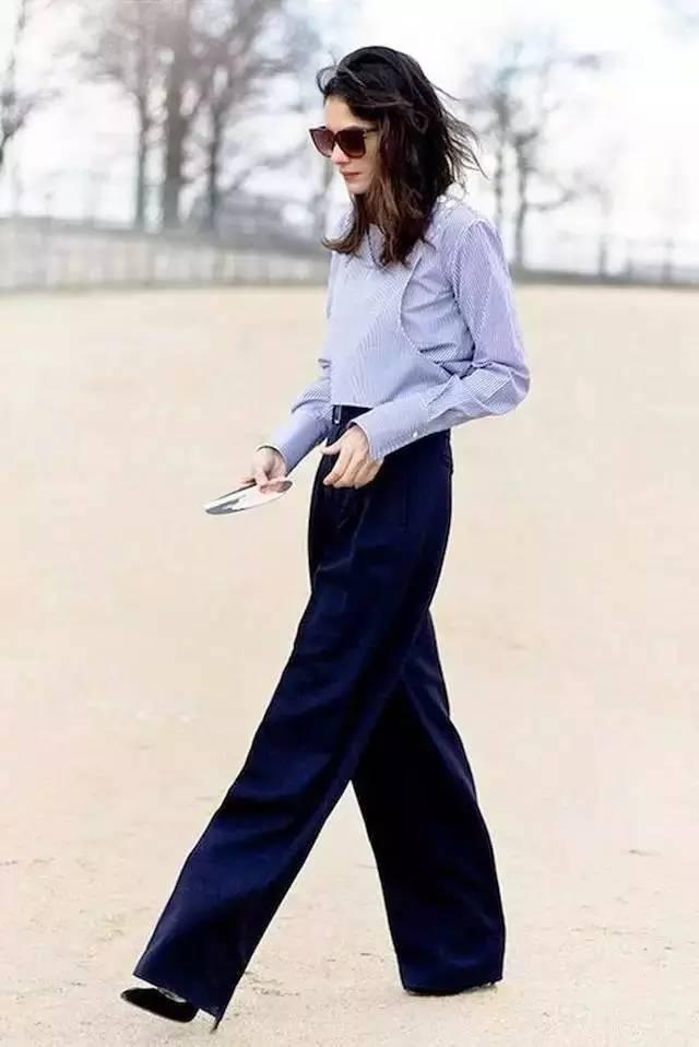 衬衫搭阔腿裤的3个秘籍 今年夏天最火气质搭配