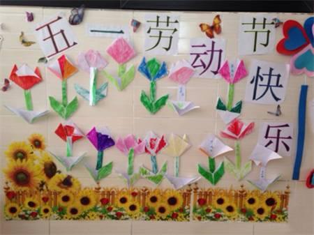 幼儿园五一劳动节主题墙来了!|一杰环创