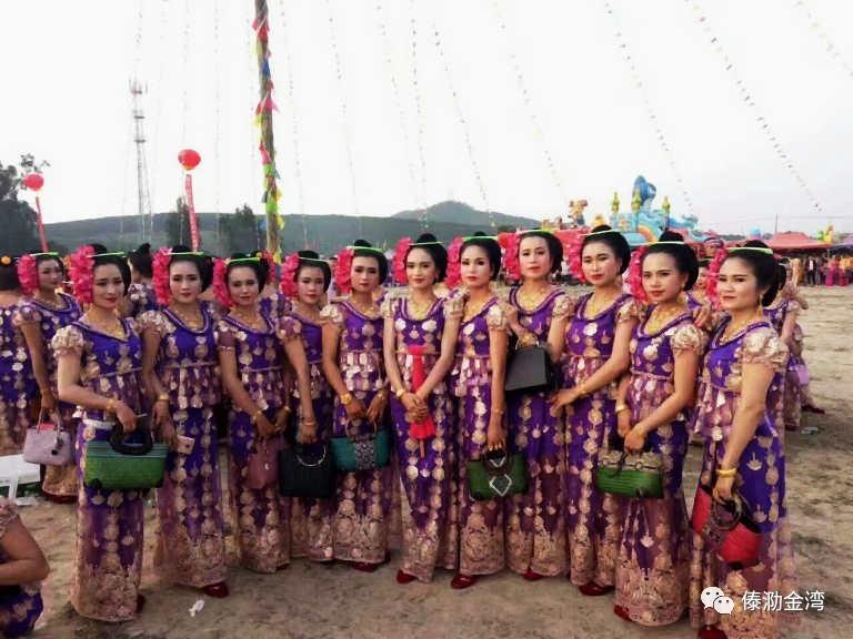 勐龙镇1379年泼水节,书法 绘画表演傣文化之源的魅力