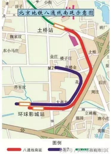 京即将要开通的地铁线路,快看看有没有经过你家门口的图片