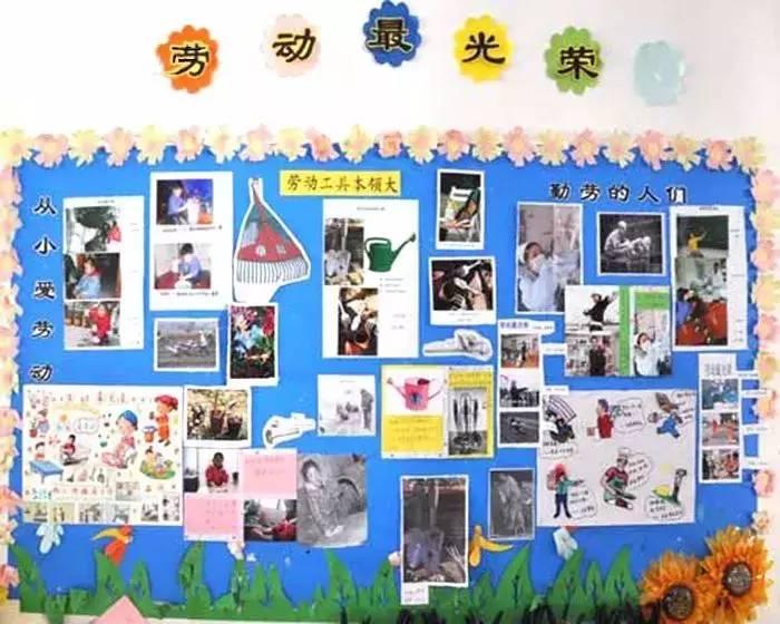 幼儿园五一劳动节专题:精选主题墙 儿歌大全