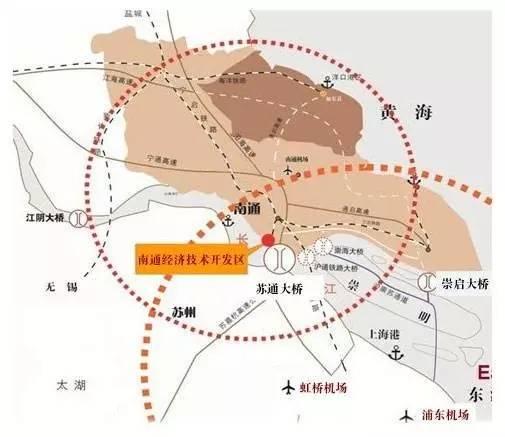 南通接轨上海,既是实施长三角一体化, 长江经济带等国家战略的要求
