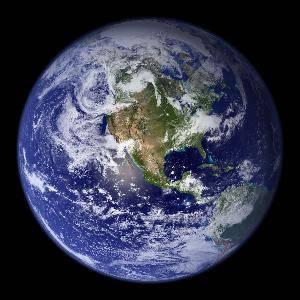 类从太空中俯瞰地球的第一张照片是美国探索6号卫星在1959年拍