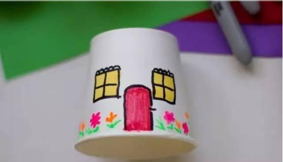 最新幼儿纸杯创意手工制作,不可错过哦!图片