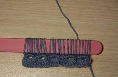 冰棒棍 竟可以用来织围巾帽子衣服,太有创意了图片