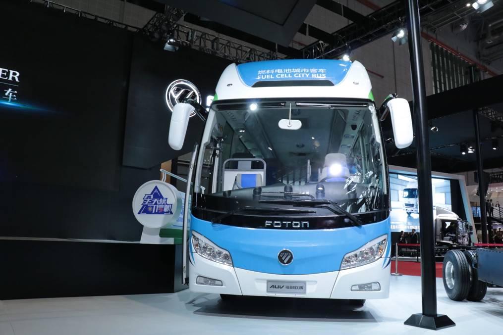 【福田欧辉8.5米氢燃料电池客车】