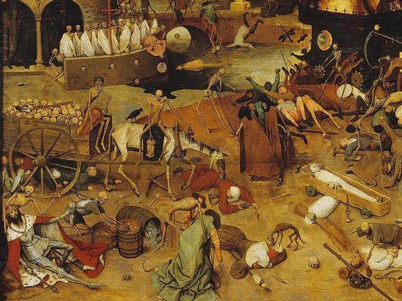 任见 欧洲中世纪黑死病灾难到底是怎么回事