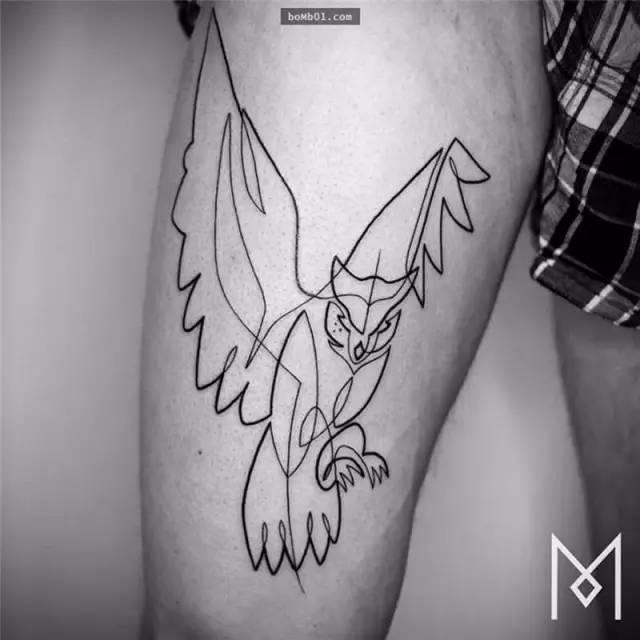 教你黑笔画假纹身龙分享展示图片