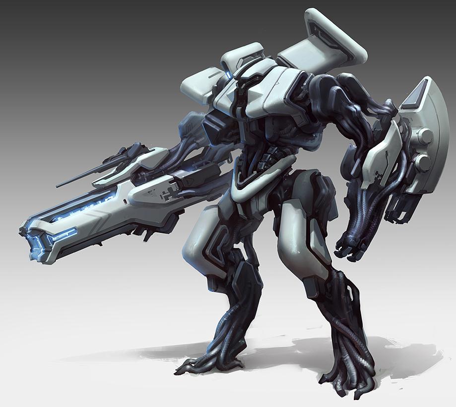 难道机器人和人形机甲都是未来战争单兵作战的主要武力吗?
