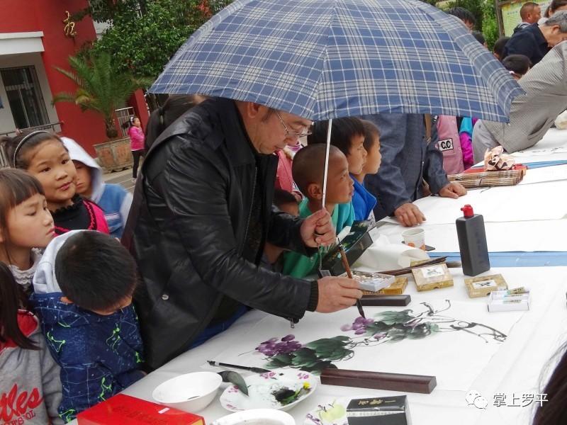 昨天,九龙以德小学很热闹!江门市小学排名图片