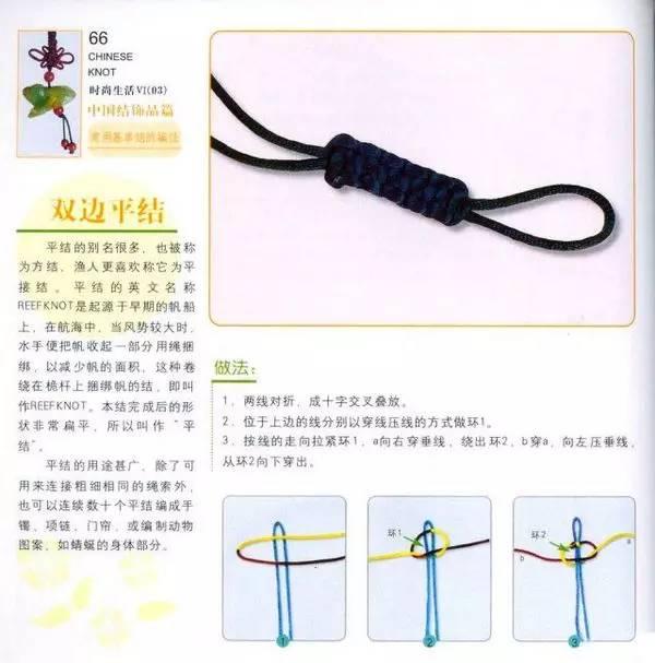 几种手链中国结的编法,很实用!
