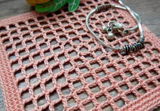 网格编织方法图解