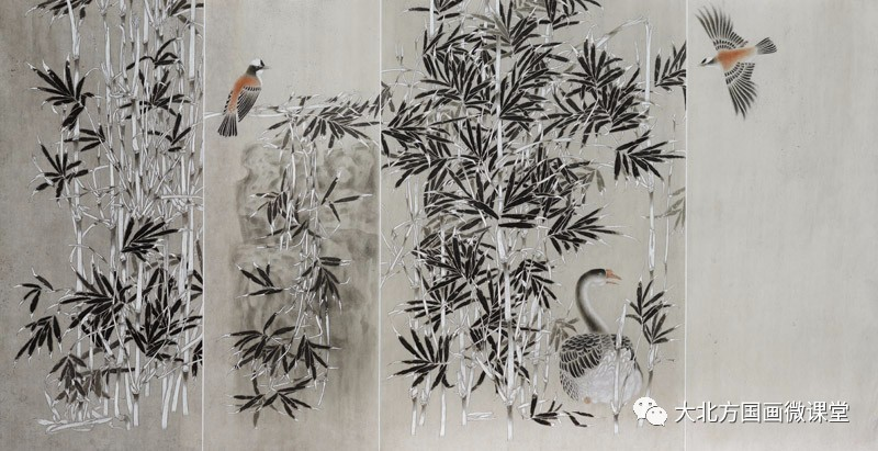 云 团队 工笔花鸟画教学招生简章