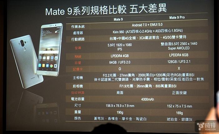 华为撤下海外官网Mate 9手机UFS闪存宣传的照片 - 4